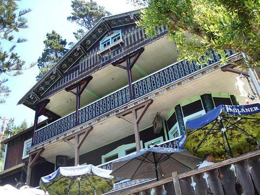 Lodge facade