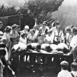Kinderfest 1923 pie eating contest