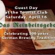 500th anniversary of das Reinheitsgebot, 1516-2016