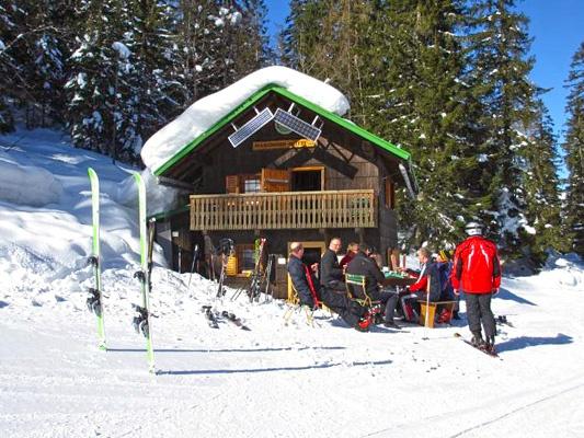 Hanzinger Hütte, Krippenstein, Austria