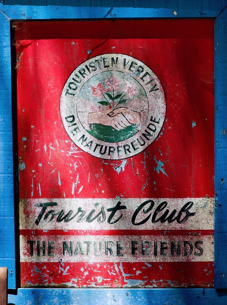 Tourist Club sign