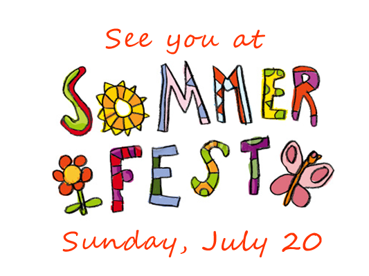 See you at Sommerfest!