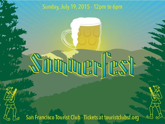Sommerfest at the Tourist Club