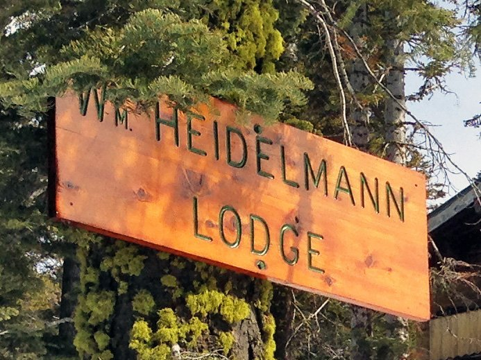 Heidelmann Lodge sign