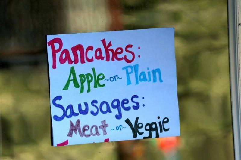 Pancakes apple or plain